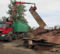 Вывоз металлолома от 100 кг